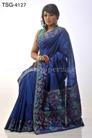 Picture of Half Silk Saree - TSG-4127