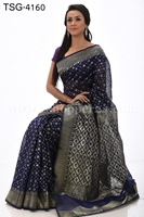 Picture of Half Silk Saree  - TSG-4160