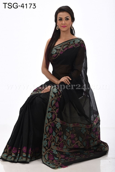 Picture of Half Silk Saree - TSG-4173