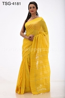 Picture of Half Silk Kuta Saree - TSG-4181