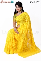 Picture of Moslin Silk Jamdani Saree - TSG-8149