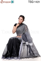 Picture of Cotton Stripe Saree - TSG-1429
