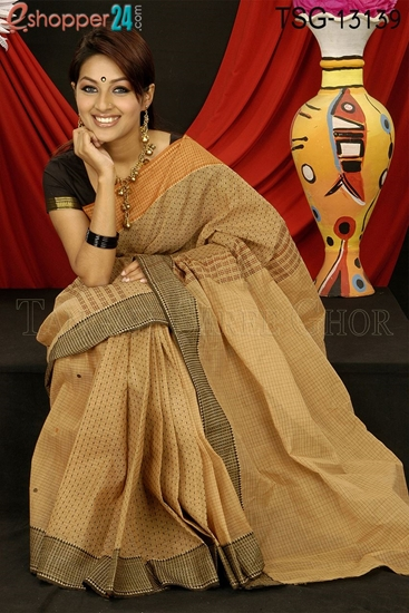Picture of Cotton Saree - TSG-13139