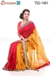 Picture of Silk & Cotton Mixed Saree - TSG-1461