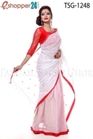 Picture of Pure Cotton Saree - TSG-1248