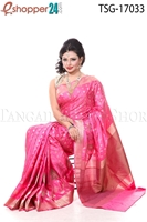 Picture of Jongla Katan Saree - TSG - 17033