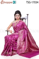 Picture of Katan Mina Buty Saree - TSG - 17034