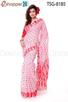 Picture of Soft Moslin Jamdani Saree - TSG-8185
