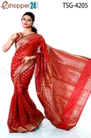 Picture of Half Silk Saree - TSG-4205