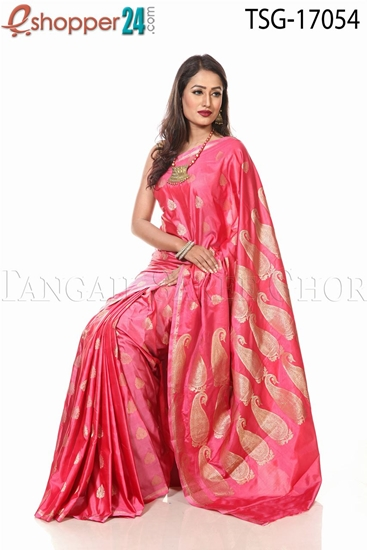 Picture of Buty Katan Saree - TSG - 17054