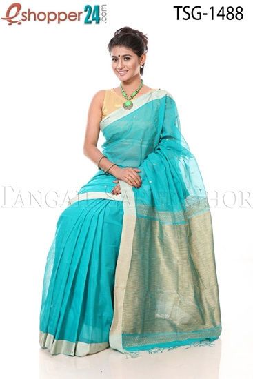 Picture of Pure Cotton Saree - TSG-1488