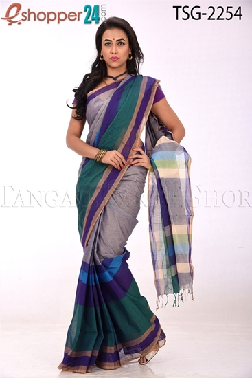 Picture of Cotton Saree - TSG-2254