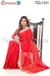 Picture of Silk & Rashom Mixed Saree - TSG-1531