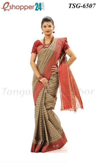 Picture of Pure Cotton Saree - TSG-6507