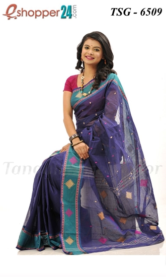 Picture of Pure Cotton Saree - TSG-6509