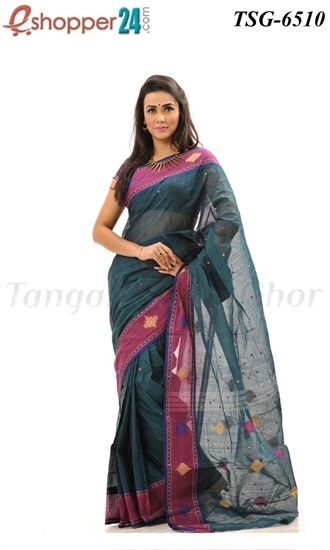 Picture of Pure Cotton Saree - TSG-6510