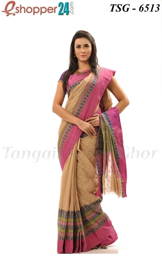 Picture of Pure Cotton Saree - TSG-6513