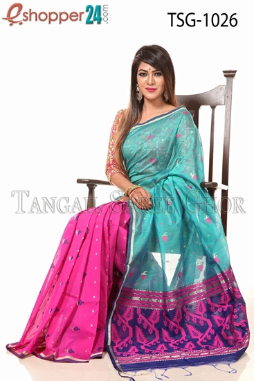 Picture of Half Silk  Saree - TSG-1026