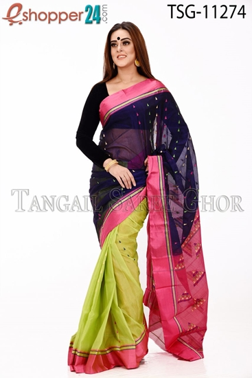 Picture of Half Silk Saree - TSG-11274