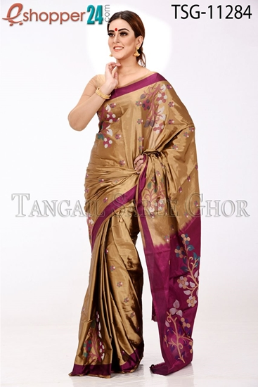 Picture of Pure Silk Saree - TSG-11284