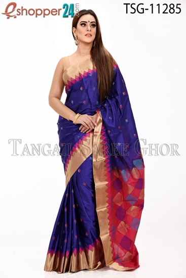 Picture of Pure Silk Saree - TSG-11285