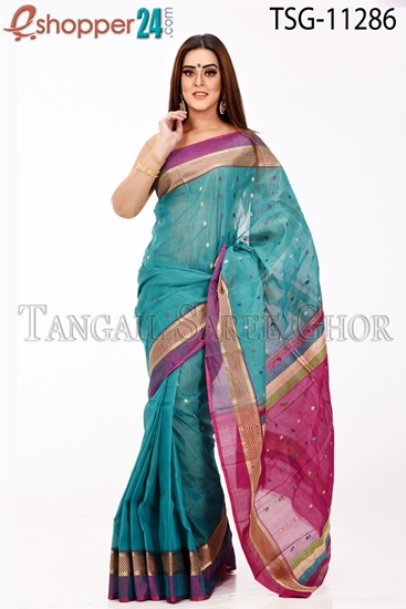 Picture of Half Silk Saree - TSG-11286
