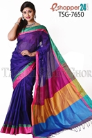 Picture of Silk & Cotton Mixed Saree - TSG-7650