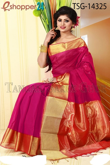 Picture of Pure Cotton Saree - TSG-14325