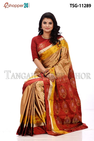 Picture of Pure Silk  Saree - TSG-11289