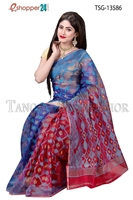 Picture of  Moslin Jamdani  Saree - TSG-13586