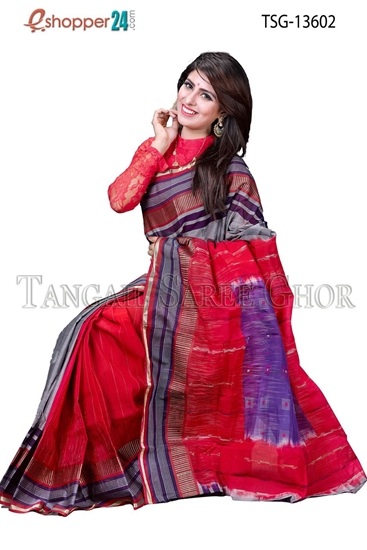 Picture of  Massloice cotton  Saree - TSG-13602
