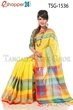 Picture of Pure Cotton Saree - TSG-1536