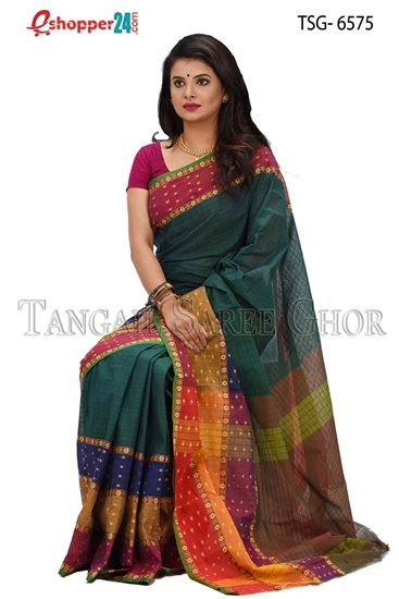 Picture of Pure Cotton Saree - TSG-6575