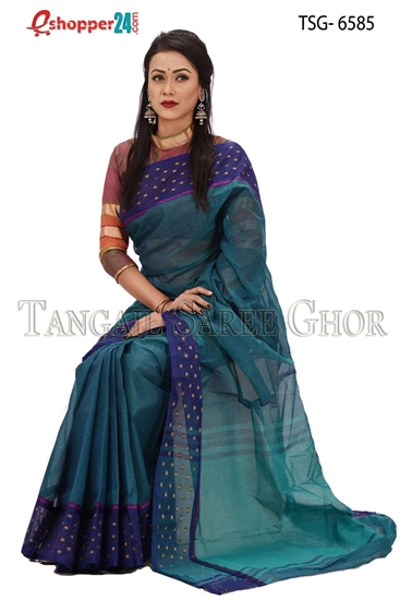 Picture of Pure Cotton Saree - TSG-6585
