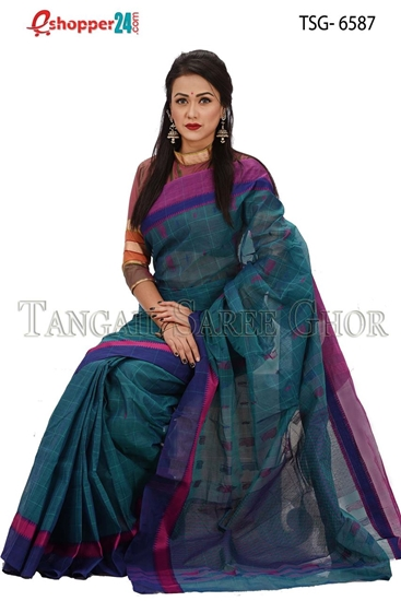 Picture of Pure Cotton Saree - TSG-6587