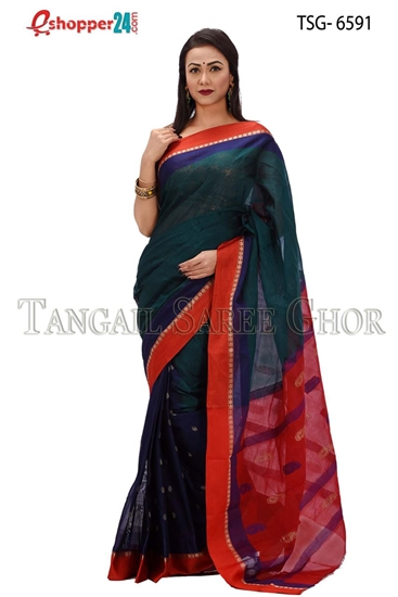 Picture of Pure Cotton Saree - TSG-6591