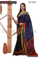 Picture of Soft cotton saree -TSG-6594