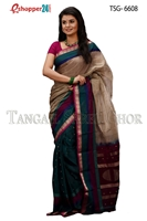 Picture of Soft cotton saree -TSG-6608