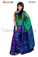 Picture of Moslin Jamdani Saree -TSG-9255