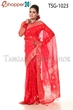 Picture of Hand Work Half Silk  Saree - TSG-1023