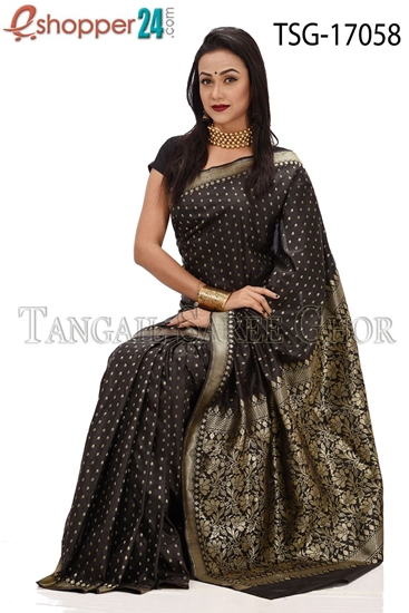 Picture of Buty Katan Saree -TSG-17058