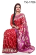 Picture of Katan Big Buty Saree - TSG - 17036