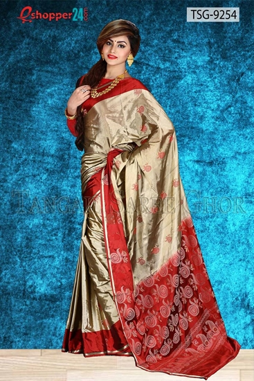 Picture of Pure Silk   Saree - TSG-9254