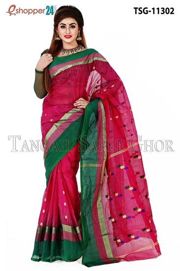Picture of Pure Cotton Saree -TSG-11302