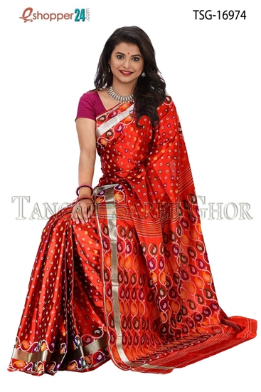 Picture of Pure Silk Saree - TSG-16974