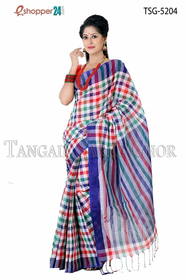 Picture of Pure Cotton Saree TSG-5204