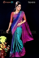 Picture of Soft Silk Saree- TSG-9310