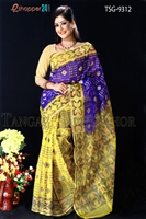 Picture of Moslin Jamdani Saree- TSG-9312