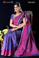 Picture of Moslin Jamdani Saree- TSG-9313