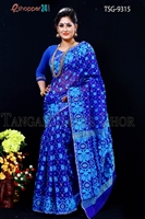 Picture of Moslin Jamdani Saree- TSG-9315